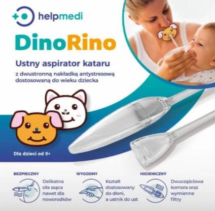 Rino Dino Nosal Aspirator 0+