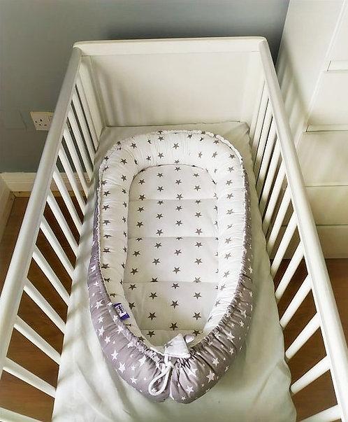 JUKKI GRAY STARS - Baby Nest