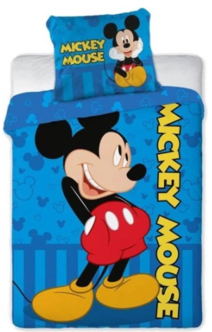 """""""MICKEY MOUSE"""" Toddler Bedding set"""