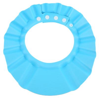 Adjustable Shampoo Eye Shield - blue