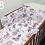 Thumbnail: 3 pcs Cot Bedding Set - Dreamcatcher