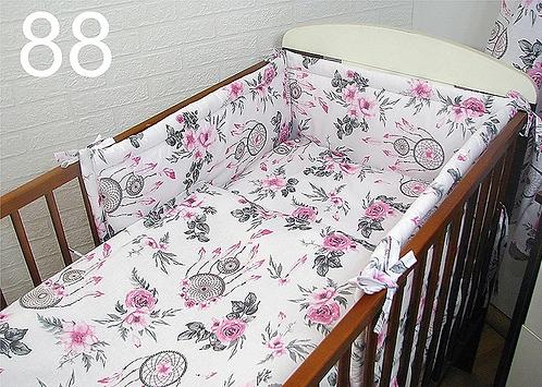 3 pcs Cot Bedding Set - Dreamcatcher