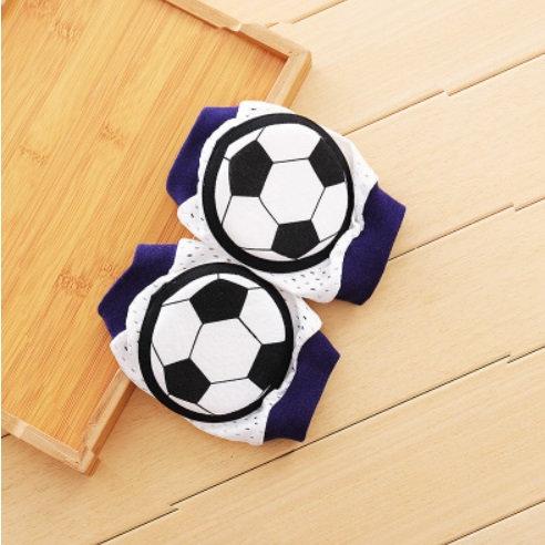 Crawling knee pads - football