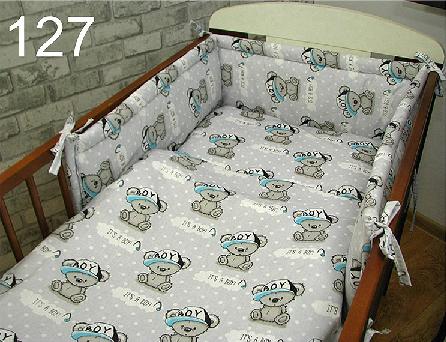 Cot Bedding Set- Its a Boy