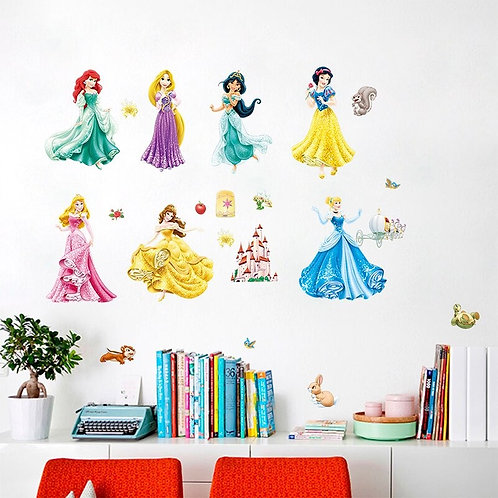 Decowall - wall stickers - Disney Princesses