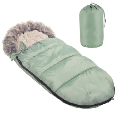 "Footmuff ""SPRINGOS""with carry bag - GREEN"