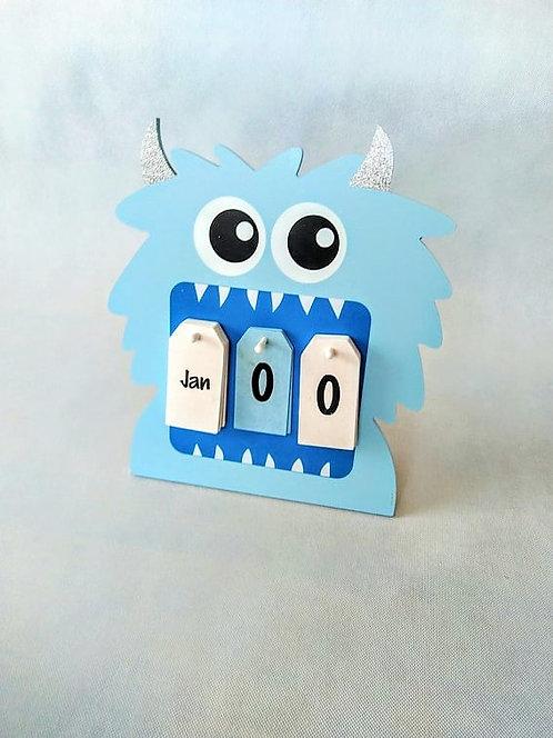 My First Calendar - Monster
