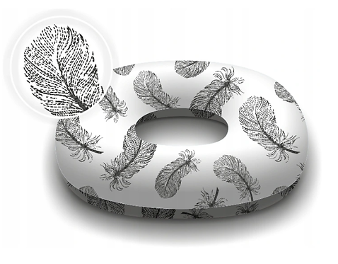Donut Pillow For Postpartum Care FEATHERS