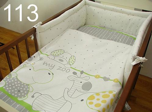 3 Pcs Cot Bedding Set- My ZOO