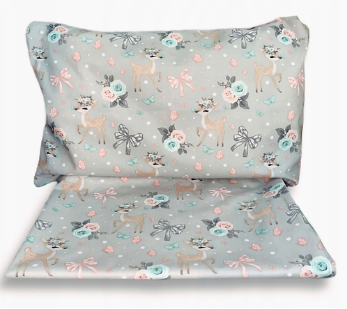 """ROE- DEER"" Cot bedding Set"