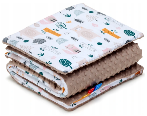 SNUGGLE MINKY BEDDING SET Sewn in filling – FOREST&BROWN MINKY