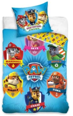 """""""PAW PATROL - TEAM """" Toddler Bedding set"""