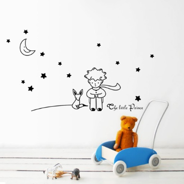 Decowall - wall stickers - little prince