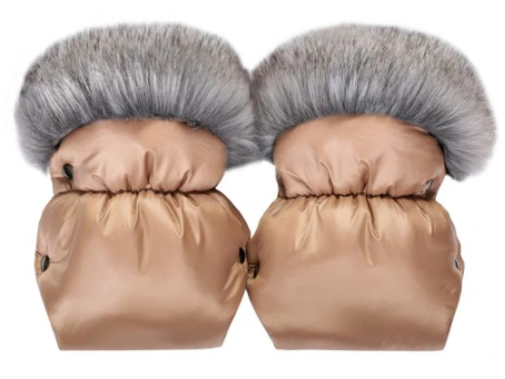 QUALI HAND MUFFS - rose gold