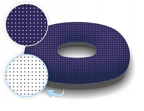 Donut Pillow For Postpartum Care NAVY&WHITE