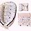 Thumbnail: CANDY PINK &STARS   Baby Nest Set - 5 Pcs