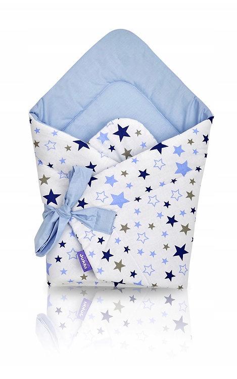 JUKKI swaddle/wrap - blue stars