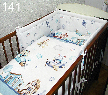 Cot Bedding Set- PLANES