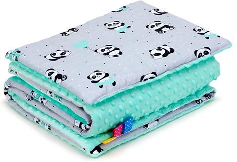 SNUGGLE MINKY BEDDING SET Sewn in filling – PANDA&MINT MINKY