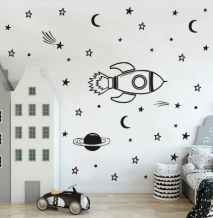 "Decowall ""Space "" wall stickers"
