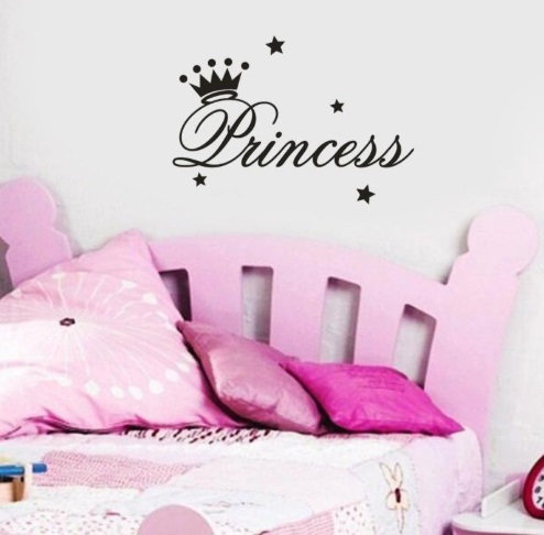"Decowall ""Princess"" wall stickers"
