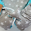 Thumbnail: Cute Nest Set -MINT STARS&GRAY STARS