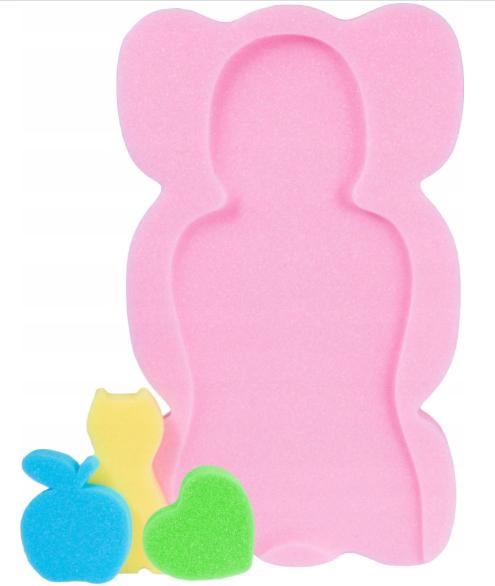 Large Bath Sponge - Bath Support -PINK