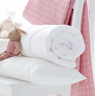 Antiallergic Duvet and Pillow Bundle - Cot Bed