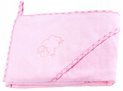Hooded Bath Towel- Pink