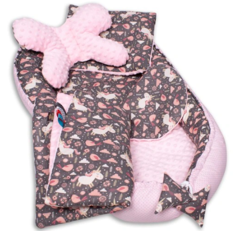 CUTE UNICORNS Baby Nest Set - 5 Pcs