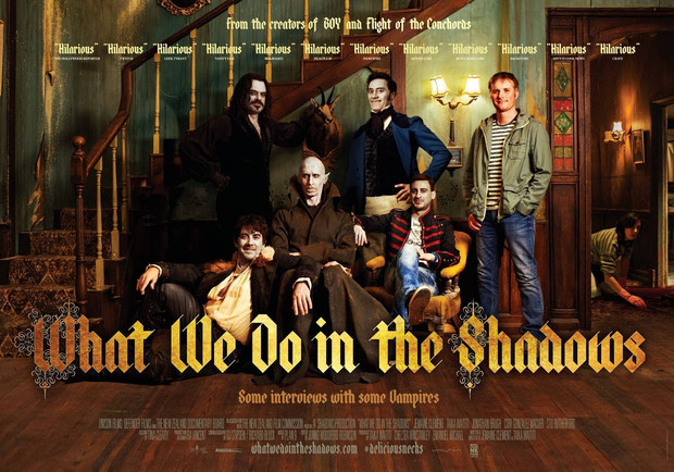 Thursday Movie Night - <What We Do in the Shadows> (2014) Sharing on [ 8th JUN 2017, 8.30pm.]