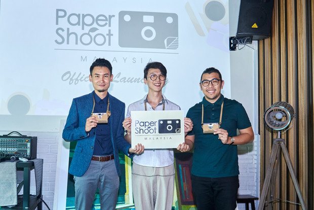 Paper Shoot Launching