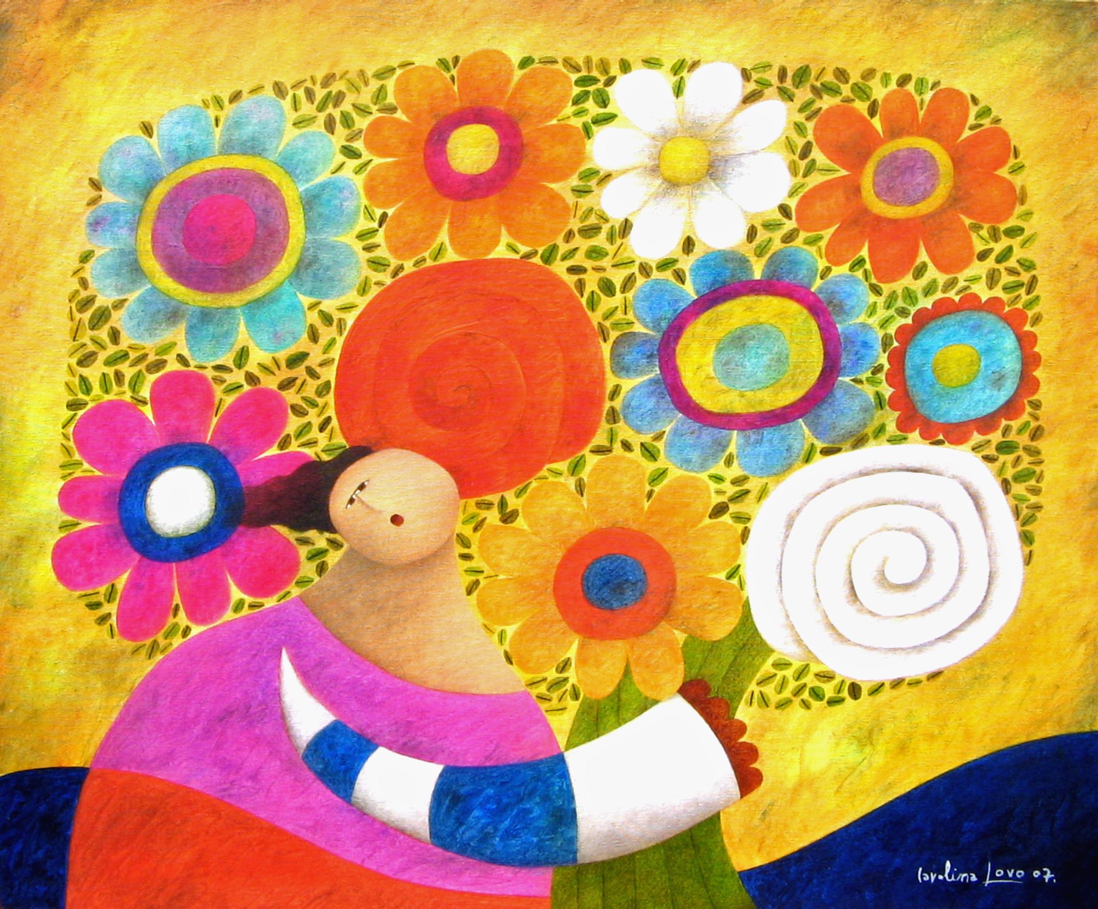 Ramo de flores, 2007