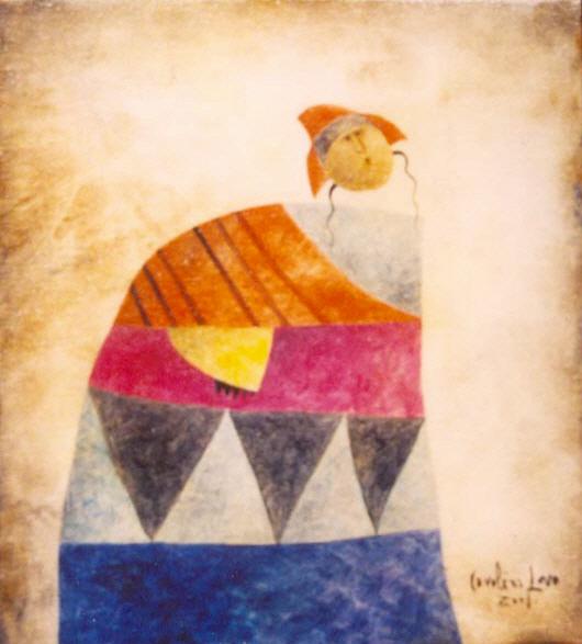 Warmi, 2001 (Andean woman)