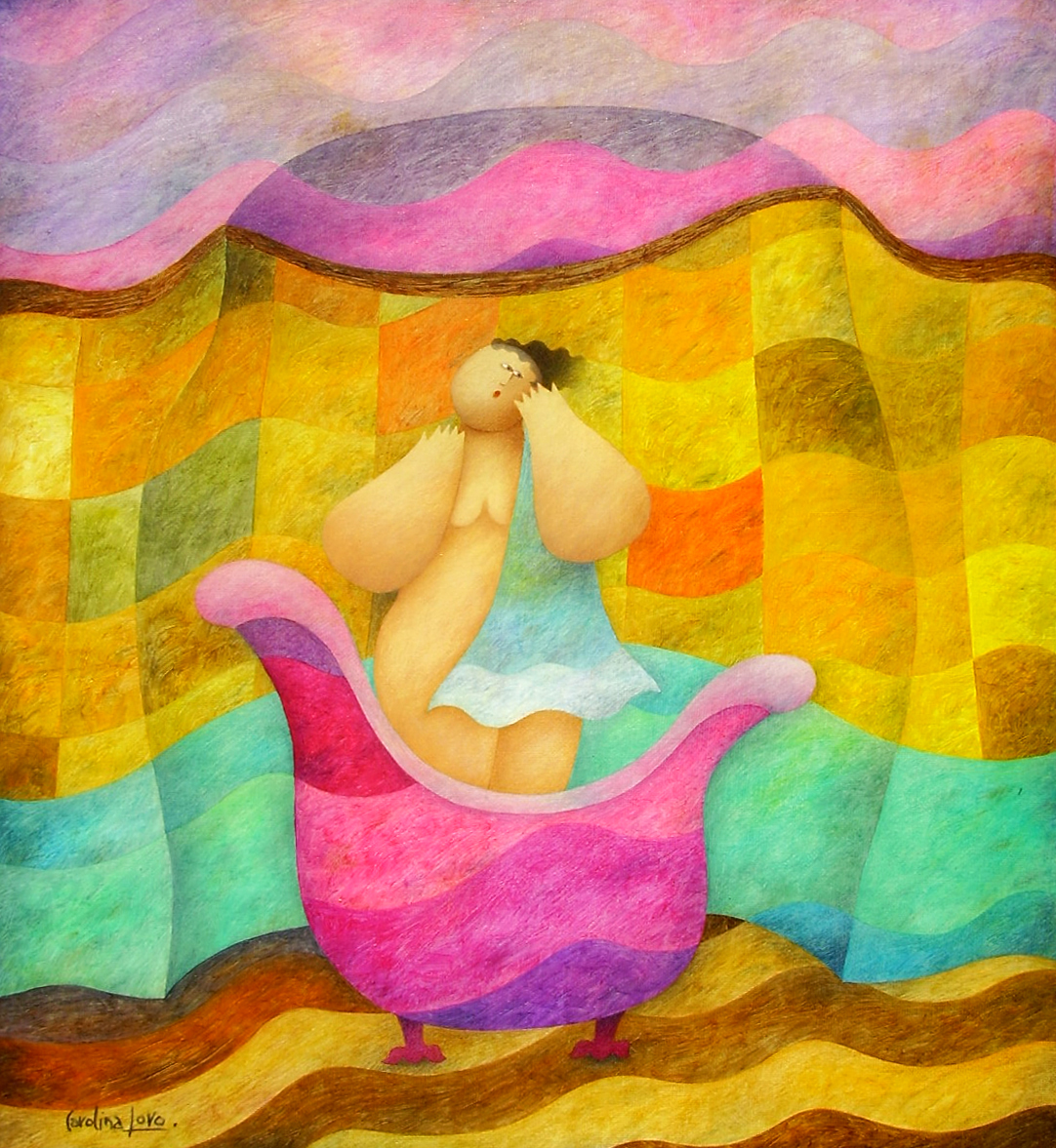 La bañista (Bather)