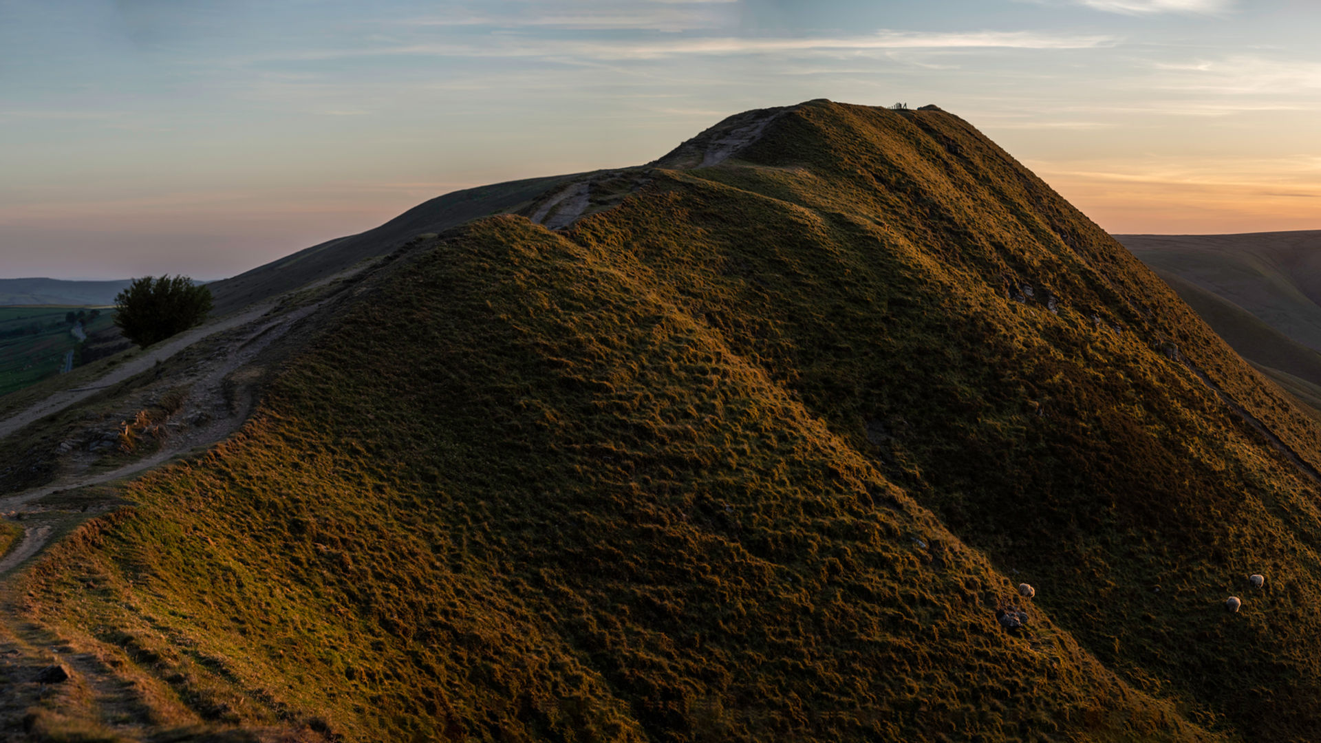 wallpaper of mam tor