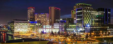 Media City At Night
