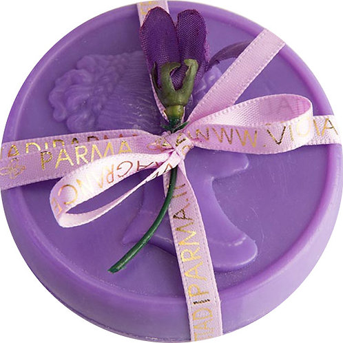 Sapone Cameo Maria Luigia colore viola
