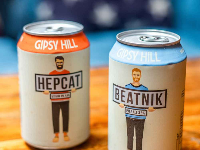 Beer in cans