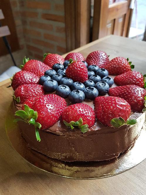 Chocolate Berry Dreams Cake