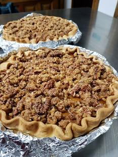 Pumpkie Praline Pie
