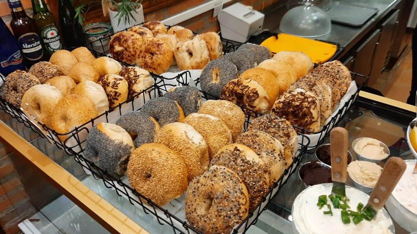 All types of bagels