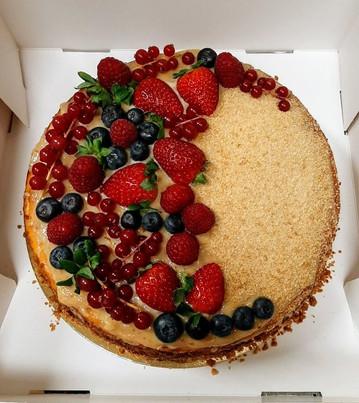 Dulce de leche cheesecake (30eur)