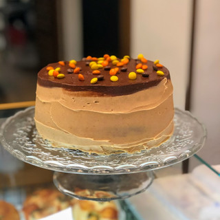 Tarta de Chocolate & Mantequilla de Cacahuete