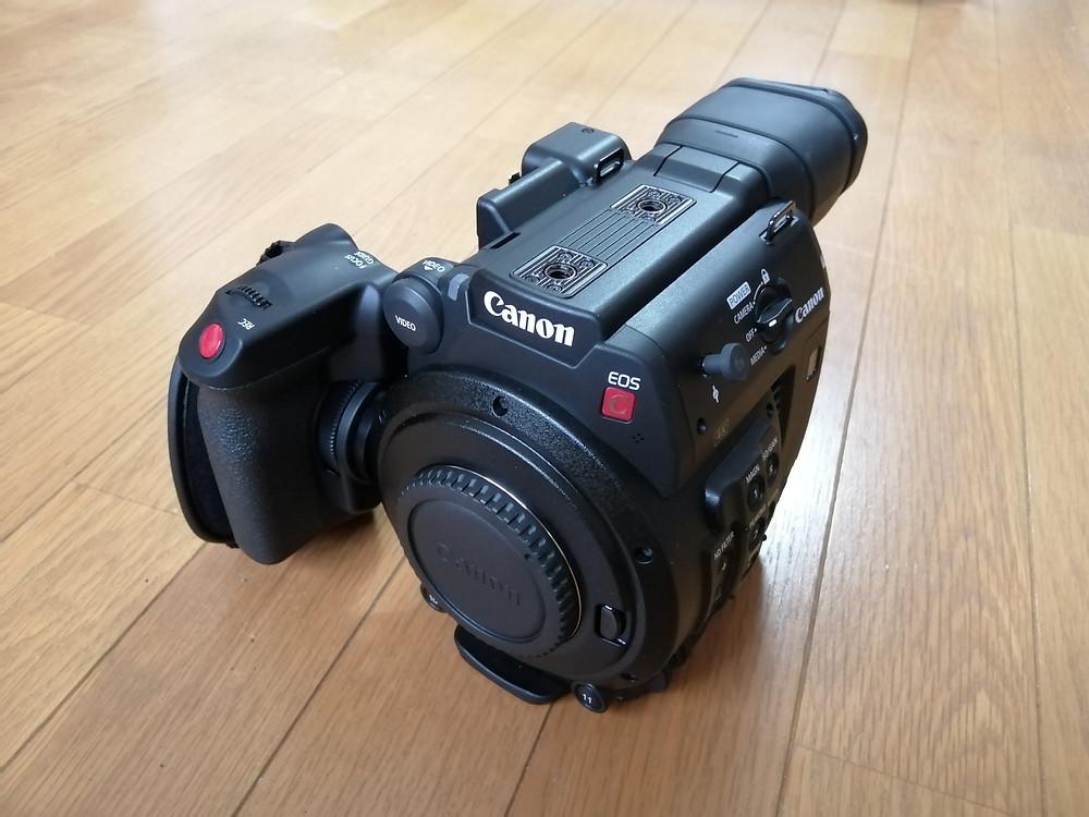動画撮影 シネマカメラ