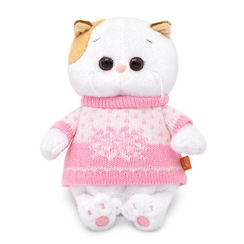 BUDI BASA Li-li baby ピンクのセーター エキゾチックショートヘア