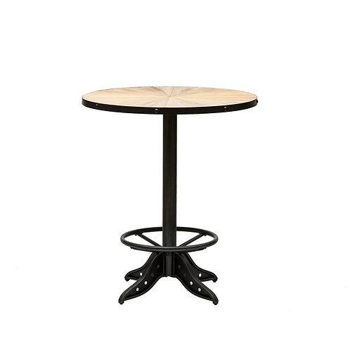 Elm & Metal Cafe Table KD
