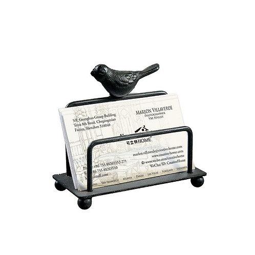 Metal Bird Business Card Holder
