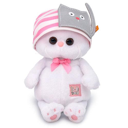 BUDI BASA Li-li baby ピンクのねこちゃん帽子 エキゾチックショートヘア