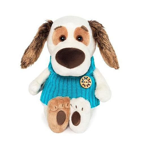 BUDI BASA   Bartholomew baby ブルーのセーター ビーグル